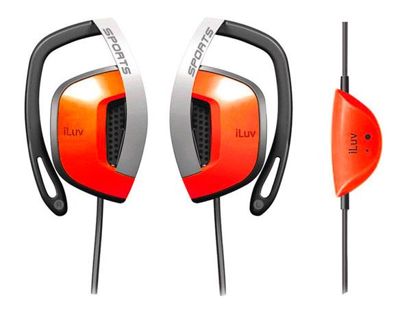 Billede af iLuv Active Sport Høretelefoner - Orange