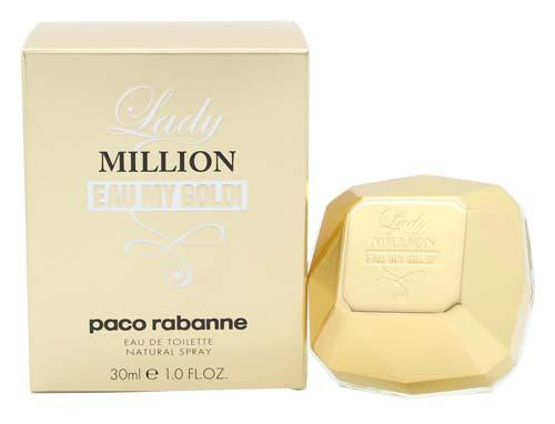 Billede af Paco Rabanne Lady Million Eau My Gold - Eau de Toilette 30ml