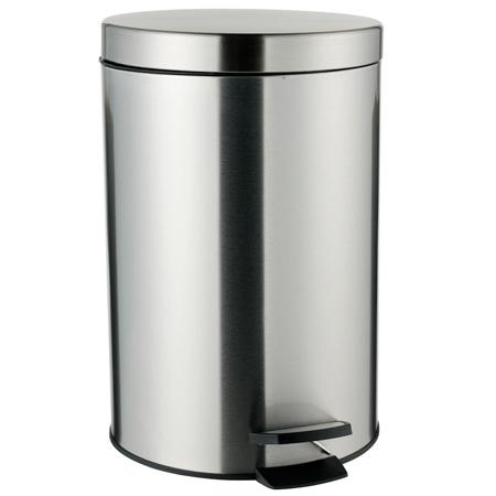 Billede af Leifheit Pedalspand 12 Liter - Sølv