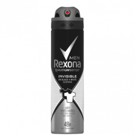 Rexona Men Invisible Black+White Deodorant Spray - 150 ml