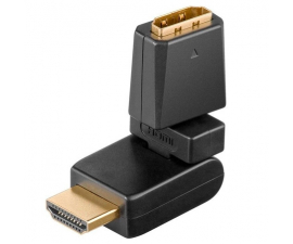 Goobay HDMI Fleksibel Adapter - Sort