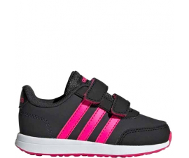 Adidas VS Switch 2 CMF Børnesko - Sort & Pink