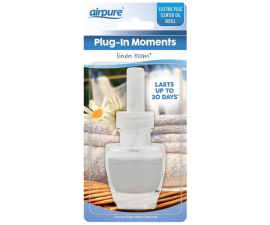 Airpure Plug-In Moments Linen Room Refill Luftfrisker - 20 ml