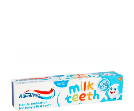 Aquafresh Milk Teeth 0-2 år Tandpasta - 50ml