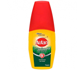 Autan Protection Plus Mygge- og Antiflådespray - 100ML