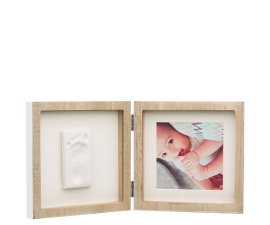 Baby Art Wooden Collection Dobbeltsidet Ramme