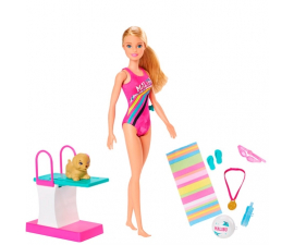 Barbie Swimmer Legesæt