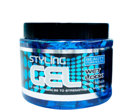 Beauty Formulas Wet Look Styling Gel - 500 ml