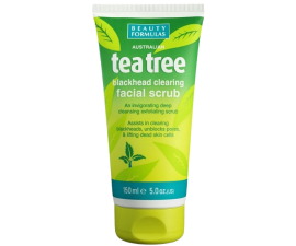 Beauty Formulas Tea Tree Blackhead Clearing Ansigtsscrub