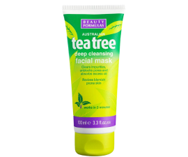 Beauty Formulas Tea Tree Deep Cleansing Ansigtsmaske - 100 ml