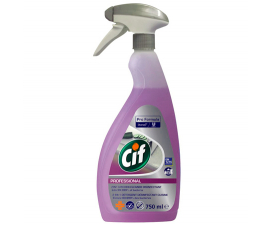 Cif 2-i-1 Kitchen Cleaner Disinfectant Spray - 750ML