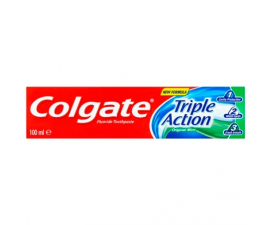 Colgate Triple Action Tandpasta - 100ml