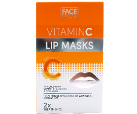 Face Facts Vitamin C Læbemaske - 2 stk