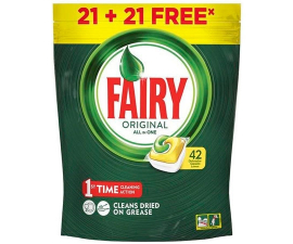 Fairy Original All in One Opvasketabs - 42 stk