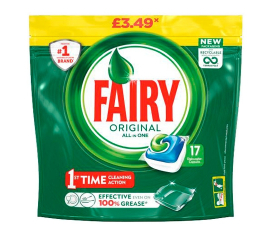 Fairy Original All in One Opvasketabs - 17 stk