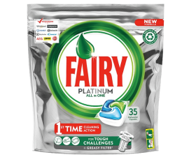 Fairy Platinum All in One Opvasketabs - 35 stk