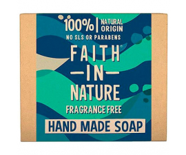 Faith In Nature Parfumefri Håndsæbe - 100g