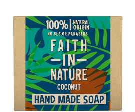 Faith In Nature Vegansk Håndsæbe Coconut - 100 g