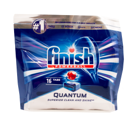 Finish Powerball Quantum Opvasketabs - 16 stk