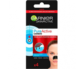 Garnier Pure Active Blackhead Strips - 4 stk