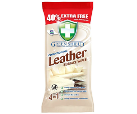 Green Shield Conditioning Leather Wipes - 70 stk