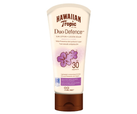 Hawaiian Tropic Duo Defence Solcreme SPF30 - 180ML