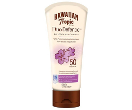 Hawaiian Tropic Duo Defence Solcreme SPF50 - 180ML