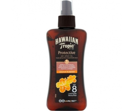 Hawaiian Tropic Protective Dry Spray SPF8 - 200ml