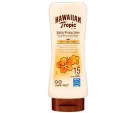 Hawaiian Tropic Satin Protection Solcreme SPF15 - 180ML