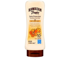 Hawaiian Tropic Satin Protection Solcreme SPF50 - 180ML