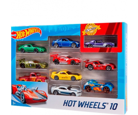 Hot Wheels 10-Bil Pakke