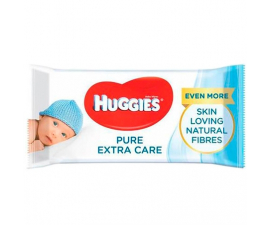 Huggies Pure Extra Care Vådservietter - 56 stk