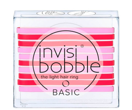 Invisibobble Basic Jelly Twist - 10 stk