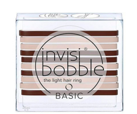 Invisibobble Basic Mocca & Cream - 10 stk