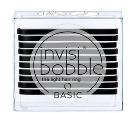 Invisibobble Basic True Black - 10 stk
