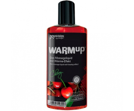 Joydivision WARMup Varmende Massageolie Cherry - 150 ml