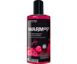 Joydivision WARMup Varmende Massageolie Raspberry - 150 ml