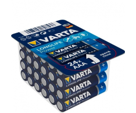 Varta Longlife Power AAA Batterier - 24 stk