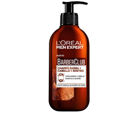 L'Oreal Men Expert Barber Club 3-i-1 Shampoo - 200ML