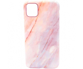 BasicPlus iPhone 11 Pro Cover - Rosa Marmor