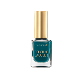 Max Factor Gel Shine Lacquer - 45 Gleaming Teal