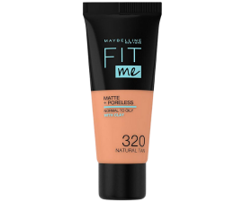 Maybelline Fit Me Matte + Poreless Foundation - 320 Natural Tan