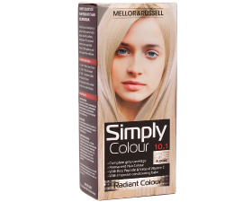 Mellor & Russell Simply Colour Hårfarve - 10.1 Extra Light Blonde