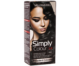 Mellor & Russell Simply Colour Hårfarve - 2.0 Natural Black