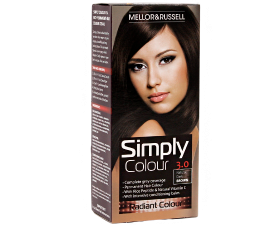Mellor & Russell Simply Colour Hårfarve - 3.0 Natural Dark Brown