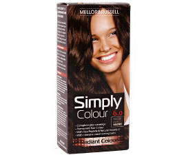 Mellor & Russell Simply Colour Hårfarve - 6.0 Natural Light Brown