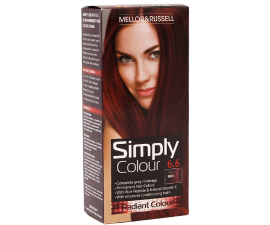 Mellor & Russell Simply Colour Hårfarve - 6.6 True Red