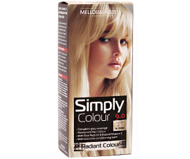 Mellor & Russell Simply Colour Hårfarve - 9.0 Natural Light Blonde