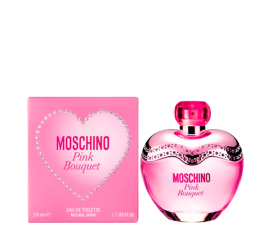 Moschino Women Pink Bouquet - Eau de Toilette 50 ml