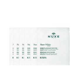 Nuxe White Brightening Perfecting Ansigtsmaske - 6 stk